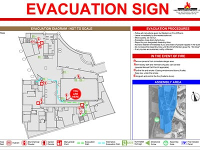 Fire Check Consultants - Fire and Evacuation Plan